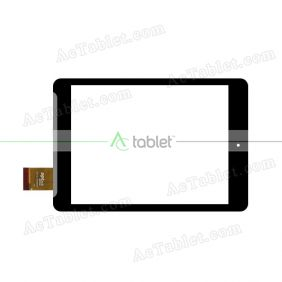 10112-0A4960F Digitizer Glass Touch Screen Replacement for 7.85 Inch MID Tablet PC