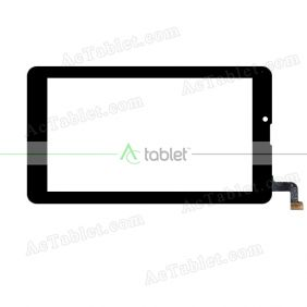 XN1593 Digitizer Glass Touch Screen Replacement for 7 Inch MID Tablet PC