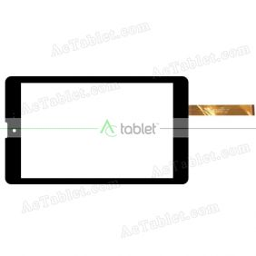 FPC-FC80J137-00 Digitizer Glass Touch Screen Replacement for 7 Inch MID Tablet PC