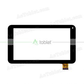 CN086FPC-V0 Digitizer Glass Touch Screen Replacement for 7 Inch MID Tablet PC