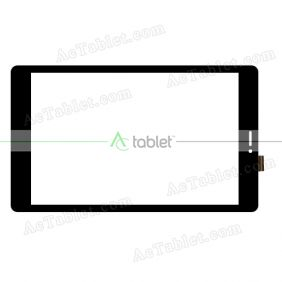 F-WGJ80235-V2 Digitizer Glass Touch Screen Replacement for 8 Inch MID Tablet PC