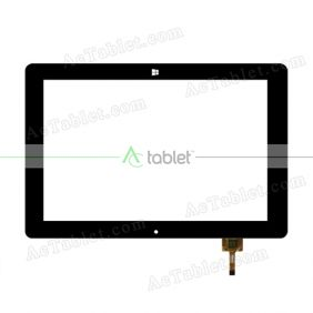 PB101A2340 Digitizer Glass Touch Screen Replacement for 10.1 Inch MID Tablet PC