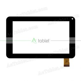 CN001C0700G12V0 Digitizer Glass Touch Screen Replacement for 7 Inch MID Tablet PC