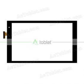 DH-1077A1-PG-FPC243 Digitizer Glass Touch Screen Replacement for 10.1 Inch MID Tablet PC