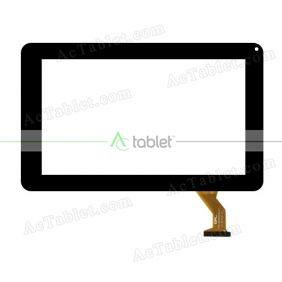 FPC-DP090036-F1 Digitizer Glass Touch Screen Replacement for 9 Inch MID Tablet PC