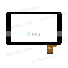 FPC-DP090040-F1 Digitizer Glass Touch Screen Replacement for 9 Inch MID Tablet PC