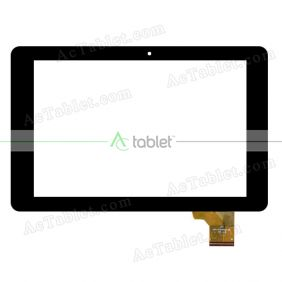 FPC-FC101S219-02 Digitizer Glass Touch Screen Replacement for 10.1 Inch MID Tablet PC