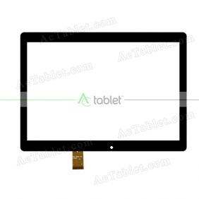 DH-1079A1-PG-FPC247 Digitizer Glass Touch Screen Replacement for 10.1 Inch MID Tablet PC