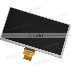 HDZ070QCP50 LCD Display Screen Replacement for 7 Inch Tablet PC