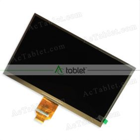 LCD Display Screen Replacement for Point of View TAB-P1026(V3.0) Quad Core 10.1 Inch Tablet PC