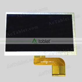 LJD700C008A-FPC-1.0 LCD Display Screen Replacement for 7 Inch Tablet PC