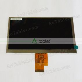 H-H07018FPC0-62 LCD Display Screen Replacement for 7 Inch Tablet PC
