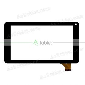 CS-CTP7072-A FPC Digitizer Glass Touch Screen Replacement for 7 Inch MID Tablet PC