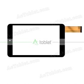 YCF0536-A Digitizer Glass Touch Screen Replacement for 7.85 Inch MID Tablet PC