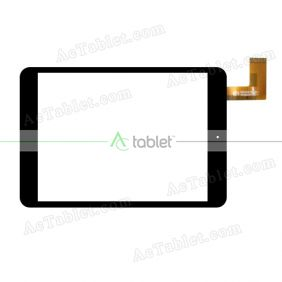 HK80DR2285-1 Digitizer Glass Touch Screen Replacement for 8 Inch MID Tablet PC