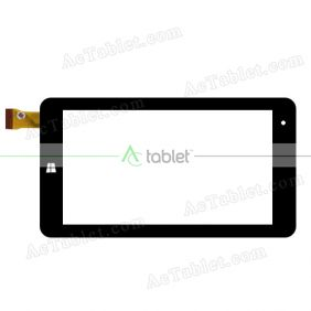 ZJ-70121A Digitizer Glass Touch Screen Replacement for 7 Inch MID Tablet PC
