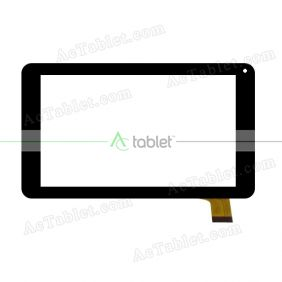 XC-PG0700-028-A4-FPC Digitizer Glass Touch Screen Replacement for 7 Inch MID Tablet PC