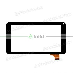YCG-C7.0-0086H-FPC-01 Digitizer Glass Touch Screen Replacement for 7 Inch MID Tablet PC