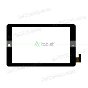 MF-800-080F-FPC Digitizer Glass Touch Screen Replacement for 8 Inch MID Tablet PC