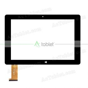 DH-1081A1-PG FHX Digitizer Glass Touch Screen Replacement for 10.1 Inch MID Tablet PC
