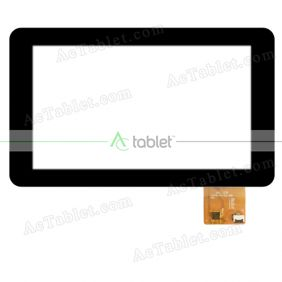 JT070-V0-GSL1680 Digitizer Glass Touch Screen Replacement for 7 Inch MID Tablet PC