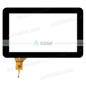 VTCP090A27-FPC-2.0 Digitizer Glass Touch Screen Replacement for 9 Inch MID Tablet PC