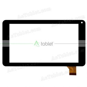 HD03-V03 PFKC Digitizer Glass Touch Screen Replacement for 7 Inch MID Tablet PC