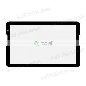 Digitizer Touch Screen Replacement for Denver TIO-11003 Octa Core 10.6 Inch Tablet PC