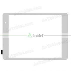 ZLD078002R784-F-D Digitizer Glass Touch Screen Replacement for 7.85 Inch MID Tablet PC