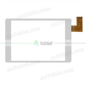 MT70850-V0 Digitizer Glass Touch Screen Replacement for 7.85 Inch MID Tablet PC