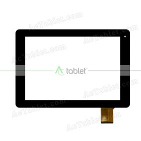 LS-FPC0970MG24A Digitizer Glass Touch Screen Replacement for 9.7 Inch MID Tablet PC