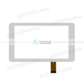 XN1265V3 Digitizer Glass Touch Screen Replacement for 7 Inch MID Tablet PC