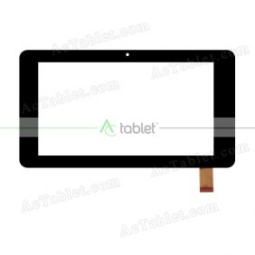 LHJ0219 FPC V3 Digitizer Glass Touch Screen Replacement for 7 Inch MID Tablet PC
