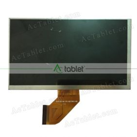 FPC0705034-C LCD Display Screen Replacement for 7 Inch Tablet PC