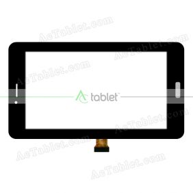 TPC1195 VER1.0 Digitizer Glass Touch Screen Replacement for 6 Inch MID Tablet PC