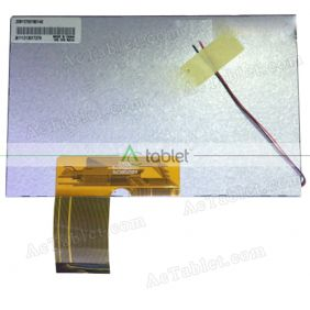 KR070PC7S 1030300176 REV:C LCD Display Screen Replacement for 7 Inch Tablet PC