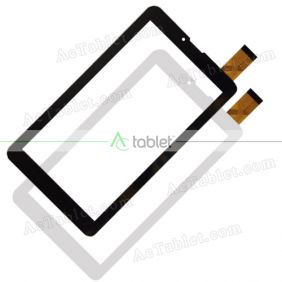 QS-706 Digitizer Glass Touch Screen Replacement for 7 Inch MID Tablet PC