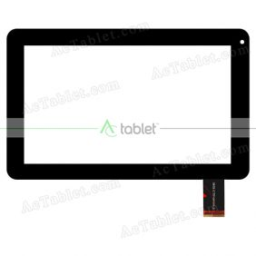 SHX-CTP-0090-3 Digitizer Glass Touch Screen Replacement for 9 Inch MID Tablet PC