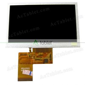 KD43G18-40NB-A1 LCD Display Screen Replacement for 4.3 Inch Tablet PC