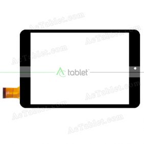 0656-V01 Digitizer Glass Touch Screen Replacement for 7.85 Inch MID Tablet PC