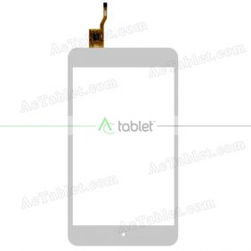 PB70JG9358-R1 Digitizer Glass Touch Screen Replacement for 7 Inch MID Tablet PC