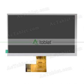 SL007DH22FPC-V0 LCD Display Screen Replacement for 7 Inch Tablet PC
