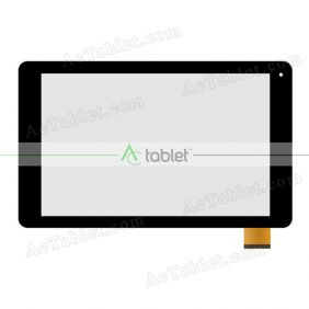 Digitizer Touch Screen Replacement for Fusion5 104 GPS MT8163 Quad Core 10.1 Inch Tablet PC
