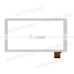DH-1027A1-PG-FPC105-V2.0 Digitizer Glass Touch Screen Replacement for 10.1 Inch MID Tablet PC