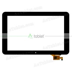 702-10016-11 Digitizer Glass Touch Screen Replacement for 10.1 Inch MID Tablet PC