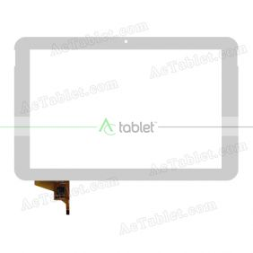 TPC0917 VER2.0 Digitizer Glass Touch Screen Replacement for 10.1 Inch MID Tablet PC