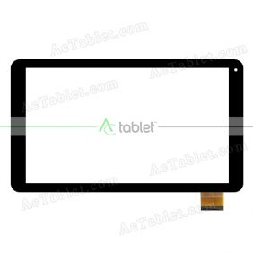 FX-C10.1-0117A-F-01 Digitizer Glass Touch Screen Replacement for 10 Inch MID Tablet PC