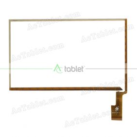 TPC0127 VER2.0 Digitizer Glass Touch Screen Replacement for 7 Inch MID Tablet PC