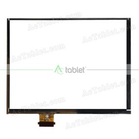 TPC1405 VER2.0 Digitizer Glass Touch Screen Replacement for 8 Inch MID Tablet PC