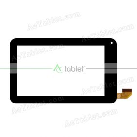 TPC0350 VER1.0 Digitizer Glass Touch Screen Replacement for 7 Inch MID Tablet PC